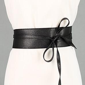 cheap Party Sashes-Women's Cute Wide Belt - Vintage