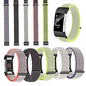 cheap Smartwatch Bands-Watch Band for Fitbit Charge 2 Fitbit Sport Band Nylon Wrist Strap