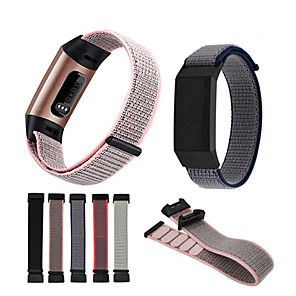 cheap Smartwatch Bands-Watch Band for Fitbit Charge 3 Fitbit Sport Band Nylon Wrist Strap