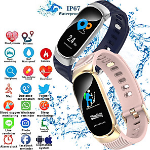 cheap Smartwatches-S3  Smart Wristband Bluetooth Fitness Tracker Support Heart Rate Monitoring/ Calories Burned Sports Smart watch for Samsung/ Iphone/ Android Phones