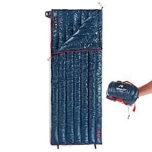 cheap Sleeping Bags & Camp Bedding-Naturehike Mini-Ultralight Sleeping Bag Outdoor Camping Envelope / Rectangular Bag 6~11 °C White Goose Down Portable Breathable Warm Ultra Light (UL) Soft YKK Zipper Skin Friendly 190*72 cm Spring