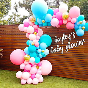 cheap Gifts & Decorations-Balloon Plastic Wedding Decorations Party / Shopping Double sided sticky / chain / Arch All Seasons