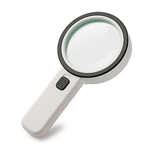 cheap Magnifying Glasses-2288-90 Illuminated Magnifier 30X For Office and Teaching For Outdoor Sporting