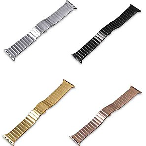 cheap Candle-Style Design-Watch Band for Apple Watch Series 5/4/3/2/1 Apple Butterfly Buckle Stainless Steel Wrist Strap