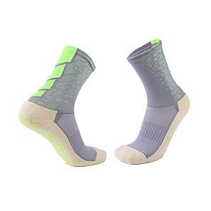 cheap Volleyball-Adults' Football Socks Athletic Sports Socks Soccer Socks Cotton Men's Socks Grip Socks Running Football / Soccer Breathable Limits Bacteria Sweat-wicking Winter Sports Outdoor 1 Pair / Micro-elastic