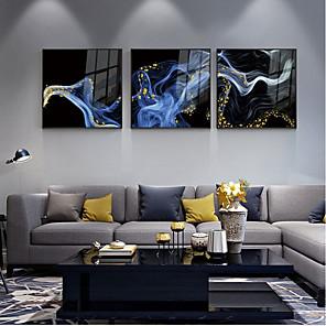 cheap Framed Arts-Framed Set - Abstract Alloy Photo Wall Art
