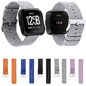 cheap Smartwatch Bands-Watch Band for Fitbit Versa Fitbit Sport Band Fabric / Nylon Wrist Strap
