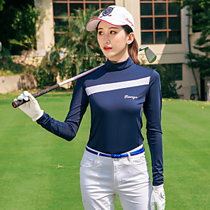 cheap Golf Clothing-TTYGJ Women's Tennis Golf Polos Shirt Top Lightweight Breathable Quick Dry Autumn / Fall Spring Summer Athleisure Outdoor / Stretchy
