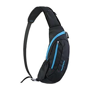 cheap Running Bags-Naturehike Hiking Backpack Cycling Backpack Shoulder Messenger Bag 15 L for Camping / Hiking Climbing Leisure Sports Beach Sports Bag Multifunctional Waterproof Rain Waterproof Mesh Nylon Waterproof