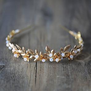 cheap Costumes Jewelry-Headbands Wreaths Headband Ancient Greek Alloy For Athena Goddess Cosplay Halloween Carnival Women's Costume Jewelry Fashion Jewelry / Headwear / Headwear