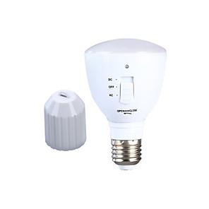 cheap LED Camping Lights-1pc 6 W LED Globe Bulbs 180-220 lm E26 / E27 24 LED Beads Rechargeable Natural White 85-265 V
