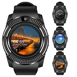 cheap Smartwatches-KUPENG V8 Smart Watch BT Fitness Tracker Support Notify/ Heart Rate Monitor Sport Smartwatch Compatible Samsung/ Android/ Iphone