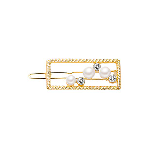 cheap Hair Jewelry-Women's Active Fashion Cute Imitation Pearl Cubic Zirconia Alloy Solid Colored