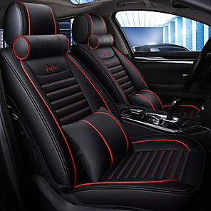 cheap Car Seat Covers-Summer Car cushion seat cover special seat pad leather ice wire All-inclusive Four Seasons Universal Network Red seat cover all surrounded/five seats/general motors seat cover/