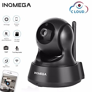 cheap Indoor IP Network Cameras-INQMEGA 720P 1MP PTZ IP Camera Wireless Cloud Storage Wifi Security Surveillance Camera Home 3.6mm Smart WiFi Camera Motion Detection Two Way Audio Night Vision Phone App Monitoring