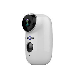 cheap Outdoor IP Network Cameras-Hiseeu Hiseeu 100% Wire-Free Rechargeable Battery CCTV Wifi IP Camera Outdoor IP65 Weatherproof Home Security Camera PIR Motion Alarm 15 mp IP Camera Indoor Support