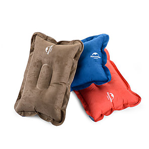 cheap Sleeping Bags & Camp Bedding-Naturehike Camping Travel Pillow Camping Pillow Outdoor Camping Breathable Inflatable Ultra Light (UL) for Camping / Hiking Traveling Outdoor Blue Red Brown