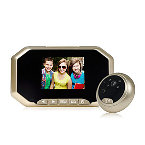 cheap Video Door Phone Systems-43AHD-M WIFI / Wired & Wireless Photographed 4.6-5.0 inch Handheld One to One video doorphone