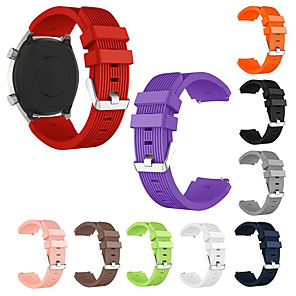 cheap iPhone Screen Protectors-Watch Band for TicWatch Pro / TicWatch S2 / TicWatch E2 TicWatch Sport Band Silicone Wrist Strap