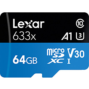 ieftine Card Micro SD/TF-Lexar 64GB Micro SD / TF Card de memorie Class10 95MB/s Telefon mobil