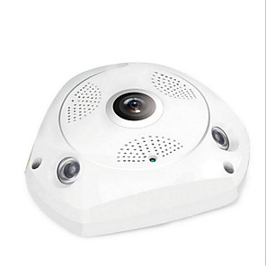 cheap Indoor IP Network Cameras-3MP/without power supply Nine security scene 360 degree VRCAM wireless wifi HD 960P network camera wide angle fisheye indoor monitoring