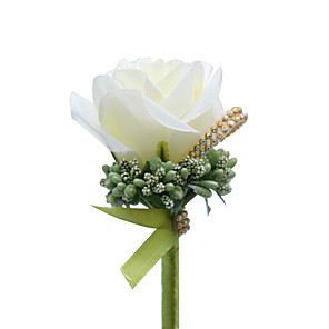 "cheap Wedding Flowers-Wedding Flowers Boutonnieres Wedding / Special Occasion Other Material 4.72""(Approx.12cm)"
