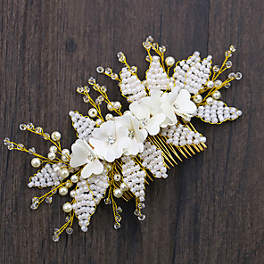 cheap Hair Accessories-Manual Hair Accessories Crystal / Alloy Wigs Accessories Women's 1 pcs pcs # cm School / Quinceañera & Sweet Sixteen / Birthday Party Crystal / Headpieces / Diamond / Rhinestone Decorated Case Non