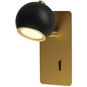 cheap Indoor Wall Lights-Eye Protection / Dimmable Rustic / Lodge / Modern Contemporary Swing Arm Lights Bedroom / Study Room / Office Metal Wall Light IP20 110-120V / 220-240V 5 W