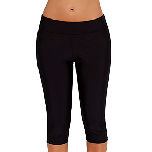 cheap Wetsuits, Diving Suits & Rash Guard Shirts-Women's Dive Skin Leggings Elastane Bottoms Swimming Water Sports Solid Colored Summer