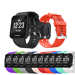 cheap Smartwatch Bands-Watch Band for Forerunner 35 Garmin Sport Band / DIY Tools Silicone Wrist Strap