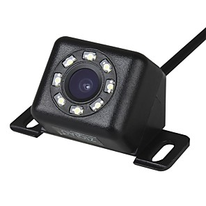cheap Car Rear View Camera-ZIQIAO 12 LED Lights 170-degree Night Vision Waterproof Car Rear View Backup Camera