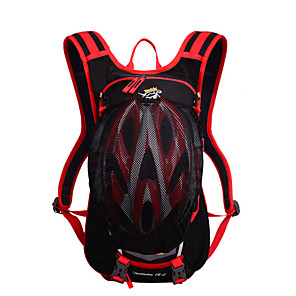 cheap Backpacks & Bags-20 L Hiking Backpack Lightweight Breathable Fast Dry Outdoor Fishing Hiking Cycling / Bike Nylon Red Green Blue