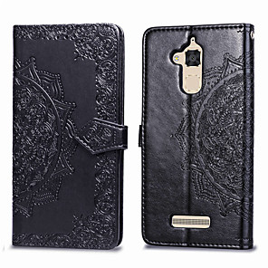 cheap Other Phone Case-Case For Asus Zenfone 3 Max ZC520TL Card Holder / Flip Full Body Cases Solid Colored Hard PU Leather for Asus Zenfone 3 Max ZC520TL