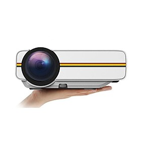 cheap Projectors-Factory OEM YG400 LCD Home Theater Projector LED Projector 1000 lm Support 1080P (1920x1080) 50-130 inch Screen