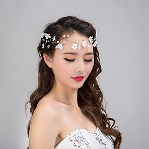 cheap Hair Jewelry-Women's For Imitation Pearl Alloy White 1pc