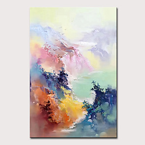 cheap Landscape Paintings-Mintura Art Large Size Hand Painted Abstract Landscape Oil Painting on Canvas Modern Wall Art Picture For Home Decoration No Framed
