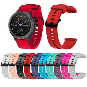 cheap Smartwatch Bands-Watch Band for Vivomove / Vivomove HR / Vivoactive 3 Garmin Sport Band Metal / Silicone Wrist Strap