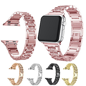 cheap Smartwatch Bands-Watch Band for Apple Watch Series 5/4/3/2/1 Apple Modern Buckle Stainless Steel Wrist Strap