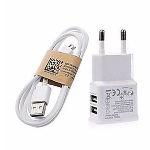 cheap Charger Kit-Portable Charger USB Charger EU Plug Multi-Output 2 USB Ports 2 A 100~240 V for Universal