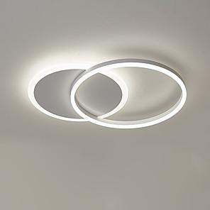 cheap Dimmable Ceiling Lights-1-Light 40 cm Flush Mount Lights Aluminum Novelty Artistic / LED 110-120V / 220-240V