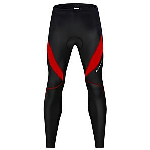 povoljno Bicikli-WOSAWE Muškarci Žene Biciklističke hlače Zima Spandex Bicikl Hlače noga Grijači Pad 3D Reflektirajuće trake Sportski Kolaž Crna / crvena / Crno bijela / Brdski biciklizam biciklom na cesti Odjeća