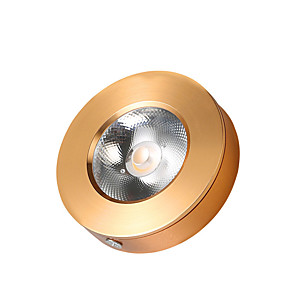 cheap LED Recessed Lights-1pc 3 W 330 lm 1 LED Beads Easy Install LED Recessed Lights LED Ceiling Lights LED Cabinet Lights Under Cabinet Lighting Warm White Cold White 220-240 V Commercial Home Office Living Room Dining Room