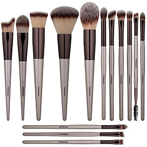 cheap Makeup Brush Sets-Professional Makeup Brushes 14pcs Full Coverage Comfy Wooden / Bamboo for Makeup Brush