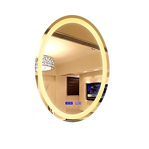"""cheap Dimmable Ceiling Lights-LED Mirror Light Vanity Light Bath Accessories 30W 50cm(19.69"""") for Bathroom Shops Cafes Bistro Office Clear Glass Hanging Wall Light"""