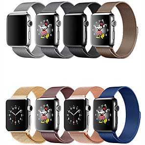 cheap Smartwatch Bands-Smartwatch Band for Apple Watch Series 5/4/3/2/1 Apple Milanese Loop Stainless Steel Wrist Strap