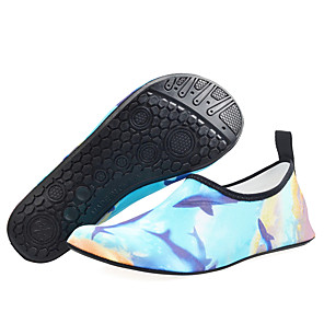 cheap Water Shoes & Socks-Men's Women's Water Shoes 5mm Low-Top Rubber Anti-Slip Barefoot Yoga Diving Surfing Snorkeling Aqua Sports - for Adults