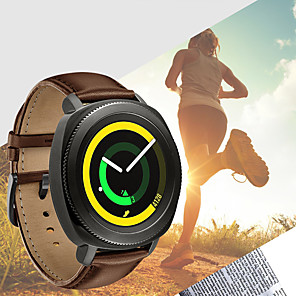 cheap Smartwatch Bands-Genuine Leather Wristband Watch Band Strap Bracelet For Samsung Galaxy Active / Galaxy Watch 42mm / Gear Sport / Gear S2 Classic Smart Watch