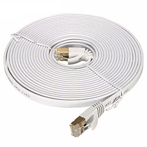 cheap Ethernet Cable-Ethernet Cable CAT7 Network Cable Flat Cable Patch Cord 20M