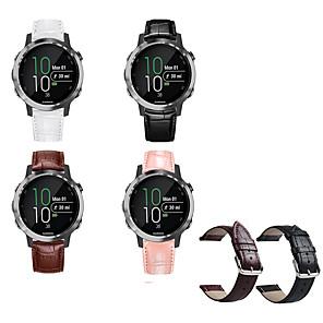 cheap Smartwatch Bands-Watch Band for Vivomove / Vivomove HR / Vivoactive 3 Garmin Sport Band Metal / Leather Wrist Strap