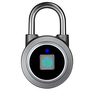 cheap Fingerprint Padlock-g Aluminium alloy Fingerprint Padlock Smart Home Security System Fingerprint unlocking Home / Office Others (Unlocking Mode Fingerprint)